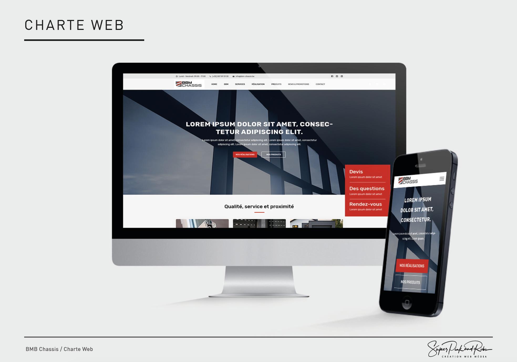 Mars 2019, lancement de notre nouveau site internet.